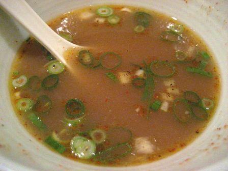 スープ割りでまったり