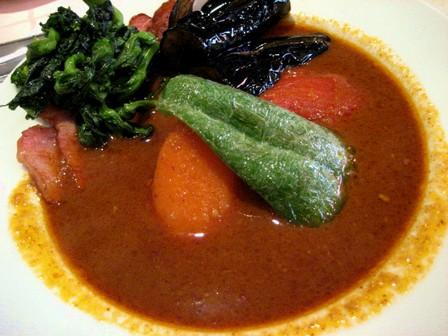 ベーコン野菜