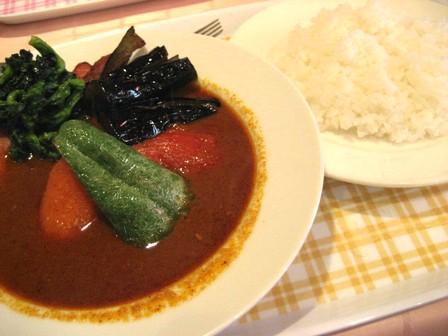 ベーコン野菜カリー3辛