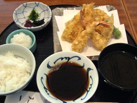 天ぷら膳(特)