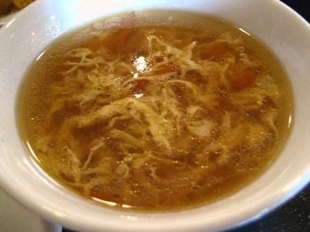 ゴマ風味の玉子スープ