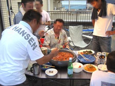 韓国風ホルモン焼きツツキ