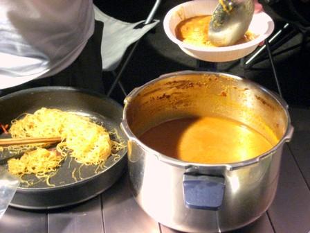 スープカリーとビーフン大人気