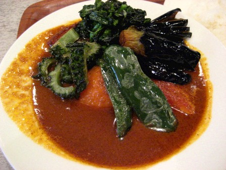 ベーコン野菜3辛ゴーヤトッピング