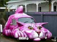 変わったデザインの車