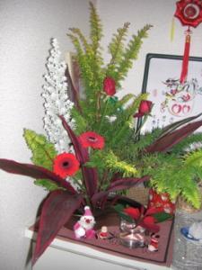 2009クリスマス花