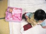 赤ちゃん人形セット