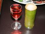 やまももワインと竹酒