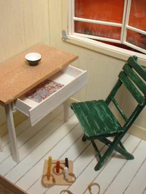 椅子と机201