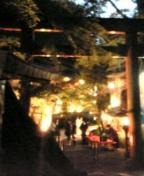 貴船神社夜景
