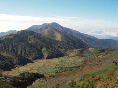 南竜ヶ馬場と別山