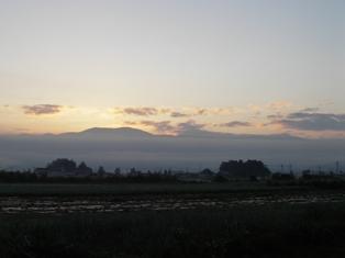 鉢伏山からの日の出