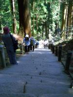 奥ノ院への階段