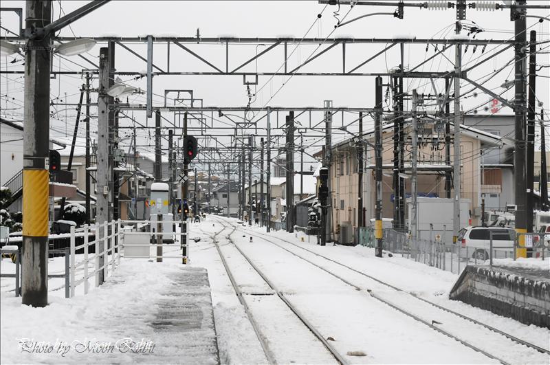 伊予西条駅構内 2008.01.21