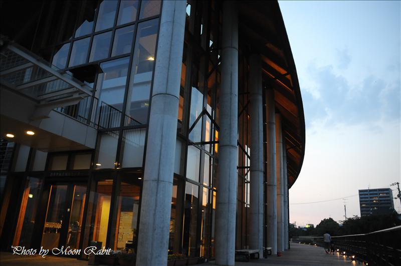 西条市総合福祉センター・マルイカトレア・マルイマーガレット付近の夕暮れ 西条市上神拝・古屋敷 2008.06.13