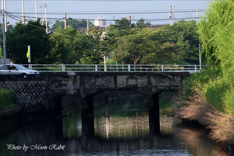 港橋(『日本の近代土木遺産―現存する重要な土木構造物2000選』) 西条市新堀下 2008.06.22