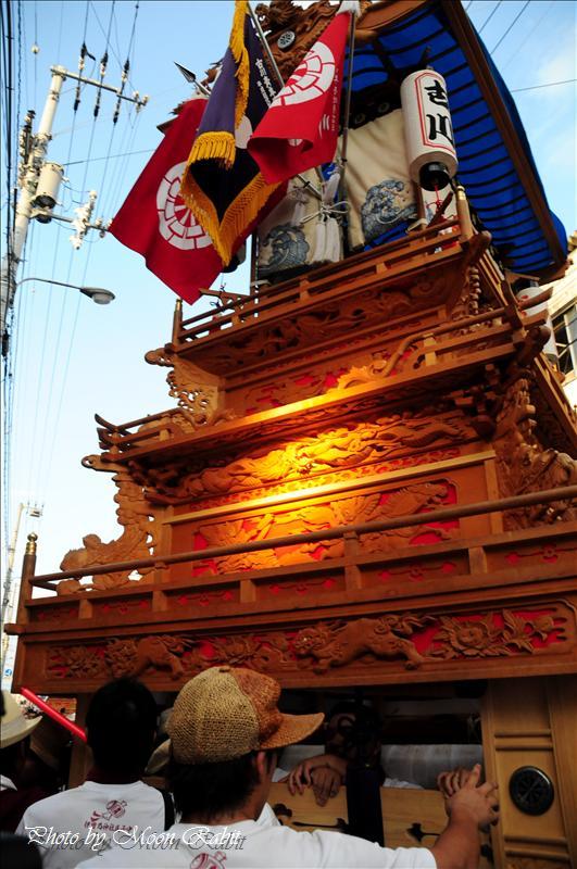 第28回にいはま夏まつり(新居浜夏祭り) その7 古川だんじり(西条市) 2008.08.03
