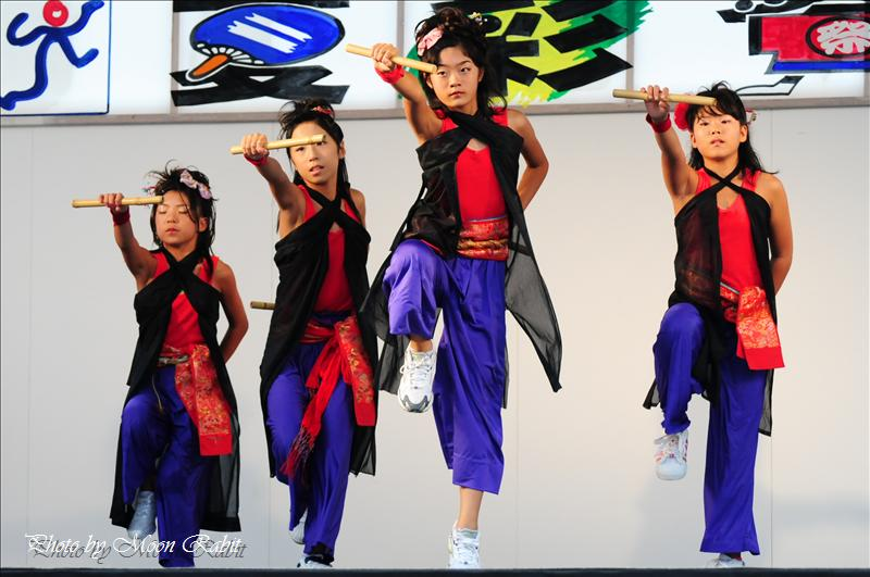 夏彩祭in壬生川 その11 あけびJPEスタジオ東予教室 ダンスステージ 2008.08.23