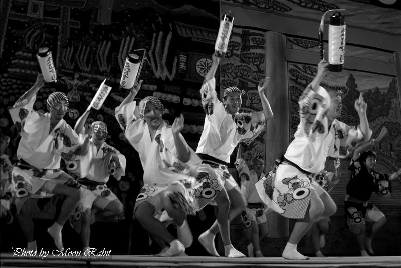 水を守ろう!響け伊勢音頭! 西条祭り 第27回伊勢音頭フェスティバル その1 池田町阿波踊り 西条市鷹丸グラウンド 2008.09.23