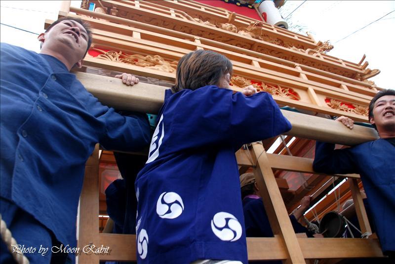 桜木神社(櫻木神社)祭礼 その1 尾土居(おどい)だんじり 西条市氷見尾土居 2008.09.28