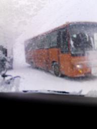 雪国の車窓から