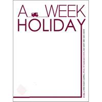 A WEEK HOLIDAY CAMPING