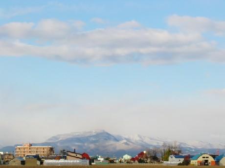 手稲山の冠雪