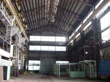 造船工場内部
