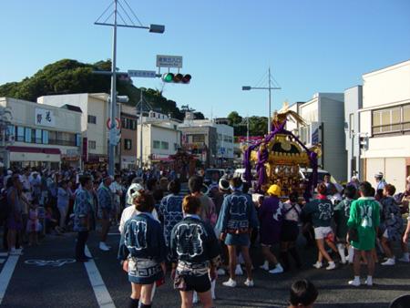 浦賀例大祭(2006年撮影)