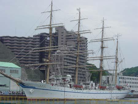 帆船・日本丸