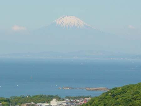 富士山がバッチリ!