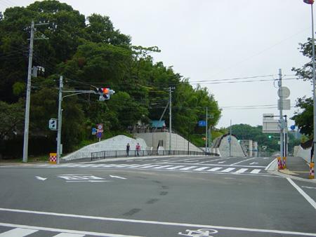 坂本芦名線交差点