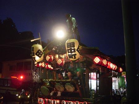 田中の太鼓山車