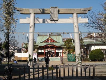 鶴見・潮田神社