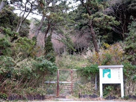 たたら浜横穴自然観察の森