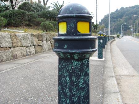 灯台の支柱