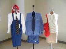 制服もリサイクル品