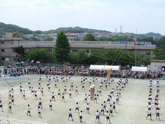 高坂小の運動会