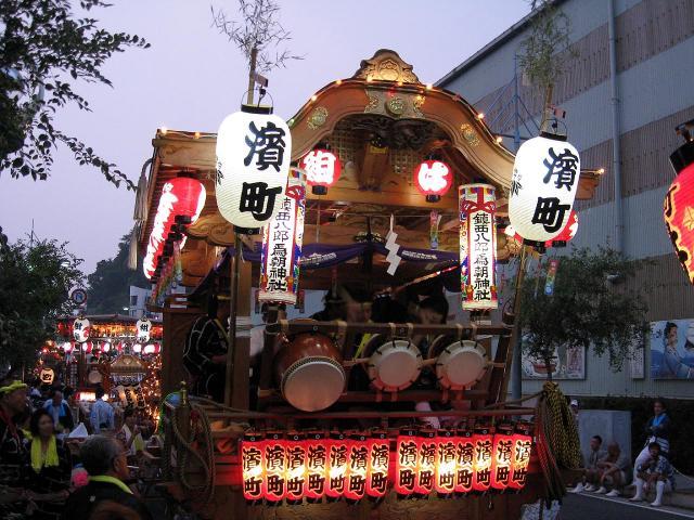 濱町の山車