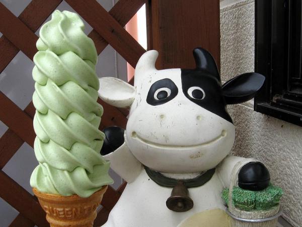 抹茶のソフトクリーム