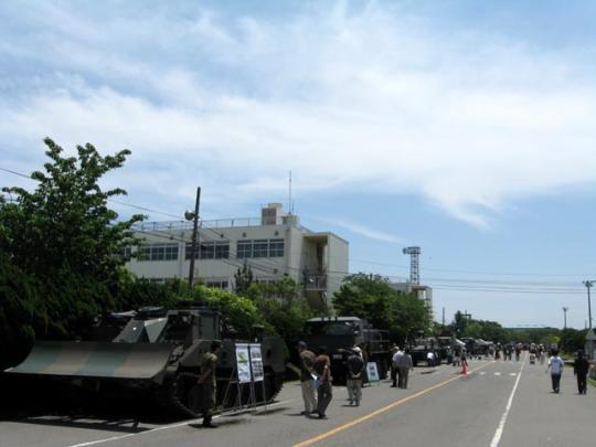 武山駐屯地