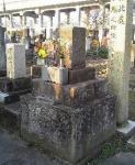 河井継之助の墓(栄凉寺)