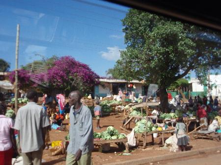 国境の町ナマンガ