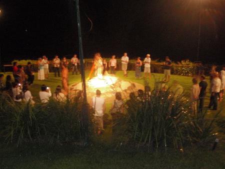 火おこしの儀式