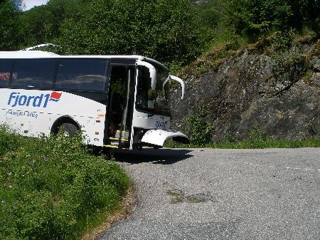 バス小事故