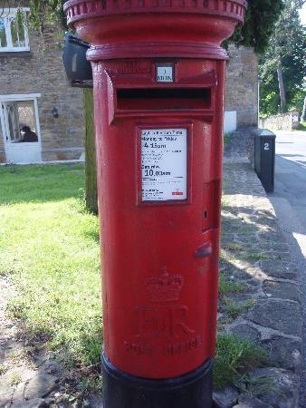 村の郵便局