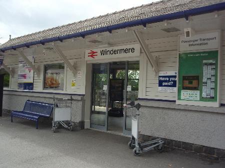 ウィンダミア駅舎