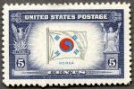 アメリカ製太極旗