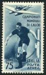 イタリア・サッカー切手