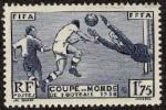フランスのサッカー切手